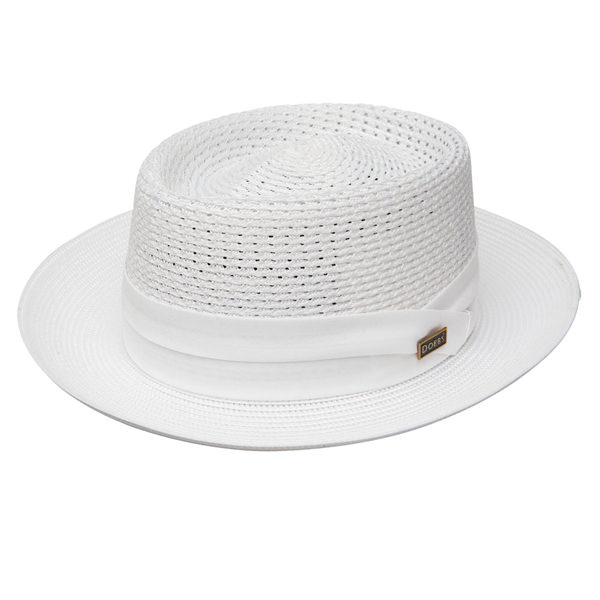 Dobbs Bishop Milan Straw Hat  DelMonico Hatter 2a9fbb57daf