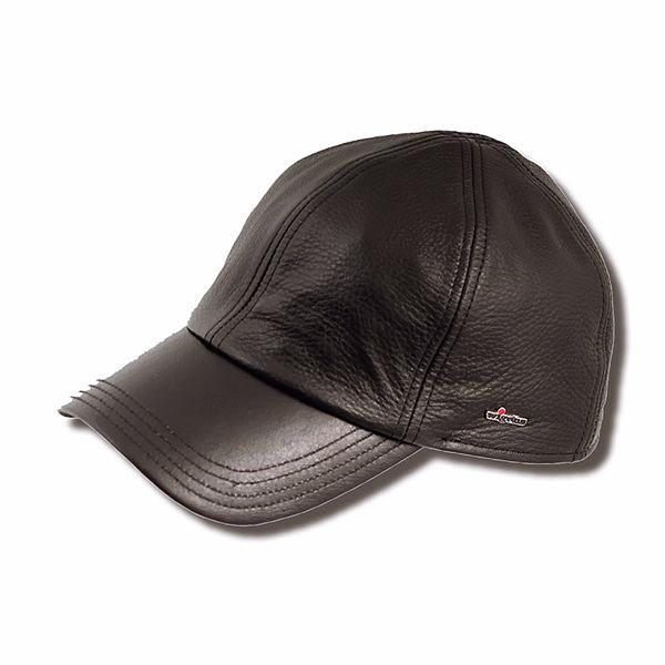 Wigens Kal Leather Baseball Cap