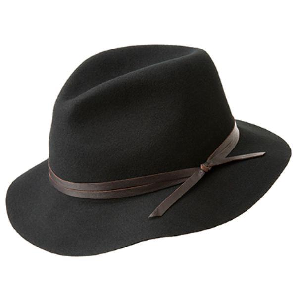 2d86cdd69a6 Bailey Obie Packable Wool Felt Hat Delmonico Hatter