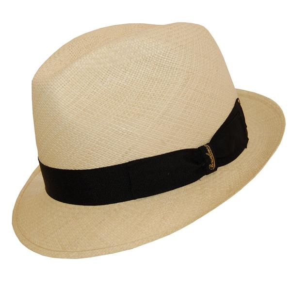 990c9132ea3 Borsalino Short Brim Panama Hat  DelMonico Hatter