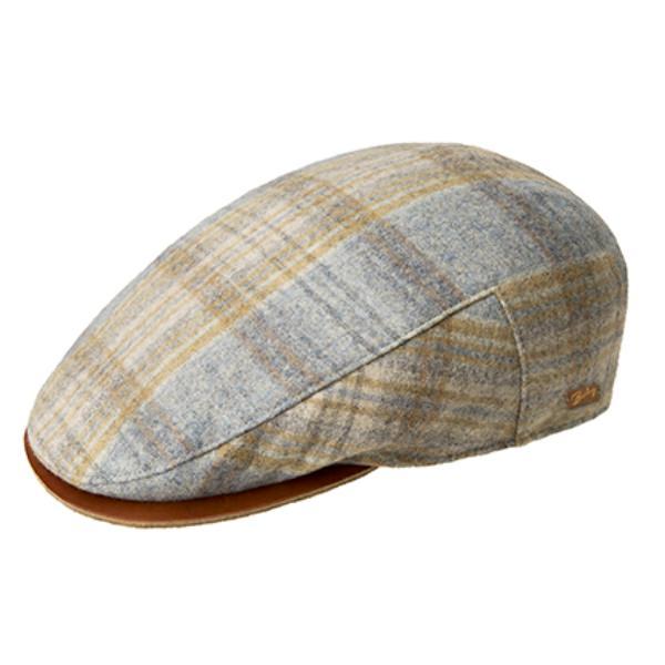 Bailey Sheldon Flat Cap w Leather Visor  DelMonico Hatter bc21260d48d