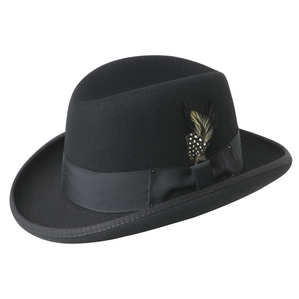 83f3c390f6d22 Bailey Godfather Hat  DelMonico Hatter