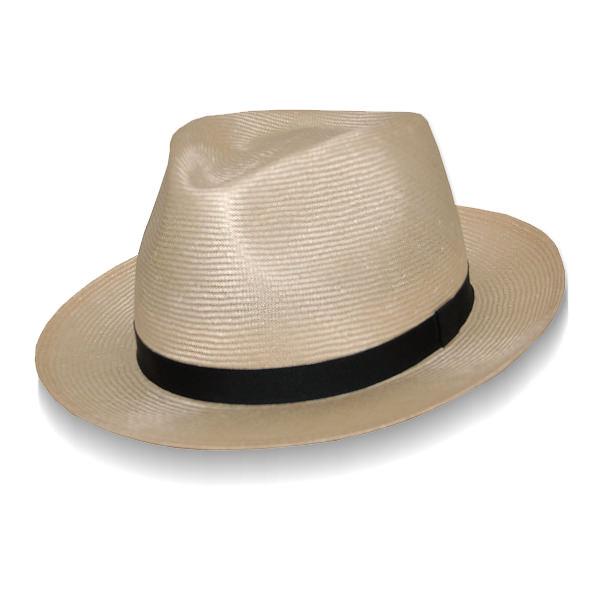 Barbisio Chelsea Parabuntal Straw Hat  DelMonico Hatter 53fed40e807