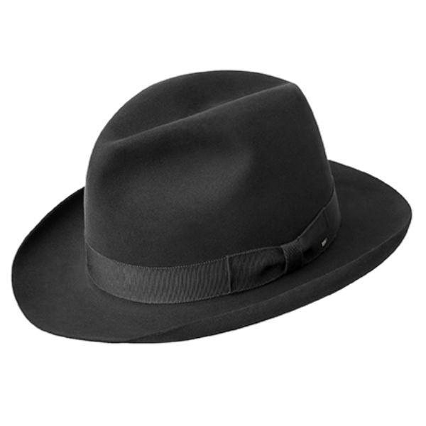 bb5c0af36ef Bailey Edsel Superior Fur Felt Fedora Hat  DelMonico Hatter
