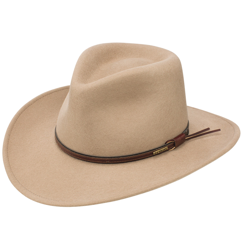 Stetson Bozeman Crushable Hat  DelMonico Hatter b3dfc1b4353