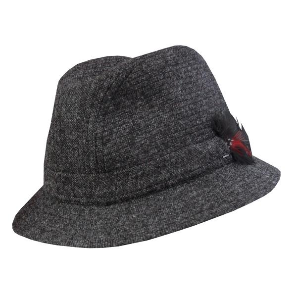 c70c472b Jonathan Richard Tweed Walking Hat: DelMonico Hatter