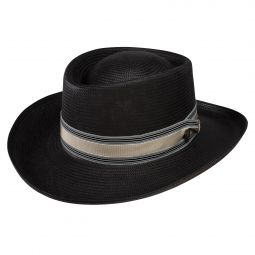 a3691340 Dobbs Parker Straw Hat. $80.00. Dobbs Kingston Shantung Gambler Hat