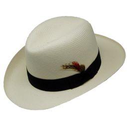 68dc05554849e DelMonico Godfather Shantung Hat