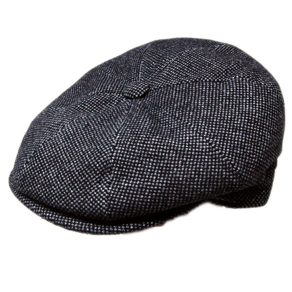 a95c18f9f4a Delmonico italian pin check newsboy cap jpg 1000x1000 Italian newsboy cap  hats