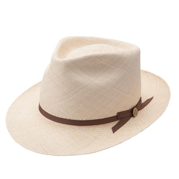 d2fb16f06f9ea Stetson Forty-Eight Panama Straw Fedora  DelMonico Hatter