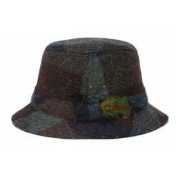 Hanna Vintage Heather Tweed Walking Hat 60917024968