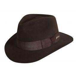 Indiana Jones Crushable Wool Felt Fedora 8c6492355fb