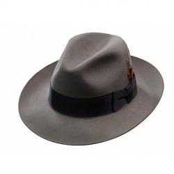 30a40c65 Stetson Temple Fur Felt Fedora Hat