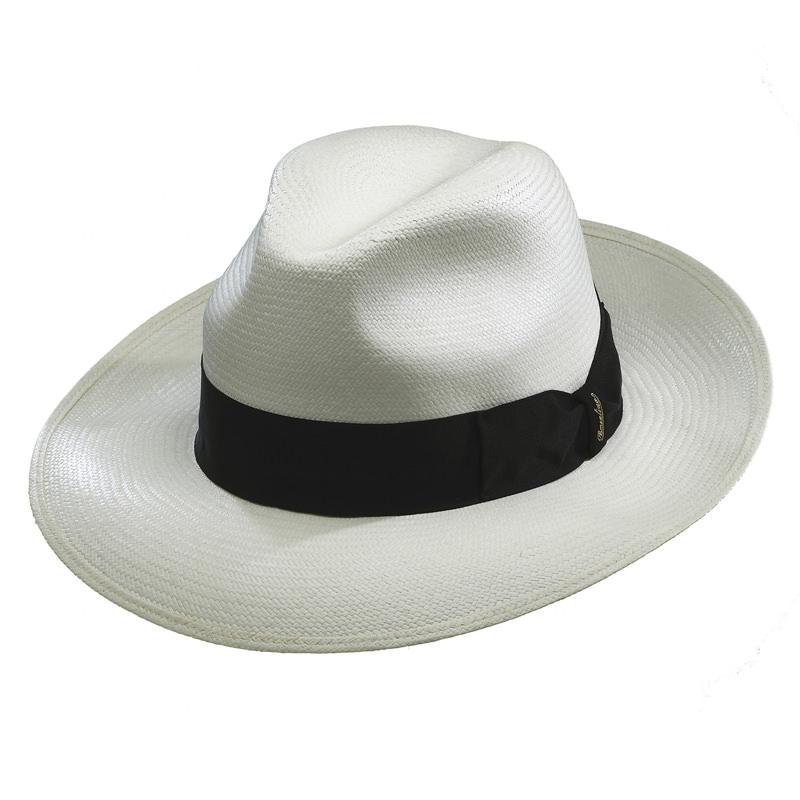 86edce5d Borsalino Quenca Fino Panama Hat - Wide Brim: DelMonico Hatter
