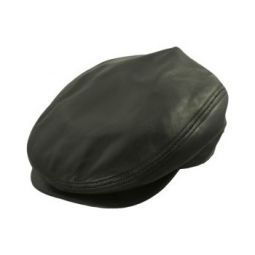 4613aa24 Genuine Leather Caps & Lambskin Hats | DelMonico Hatter
