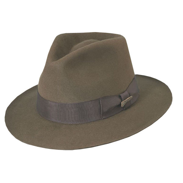 e0577500 Indiana Jones Fur Felt Hat: DelMonico Hatter