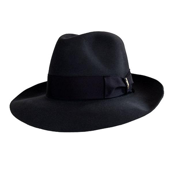 f2074256eee Borsalino Verdi Fur Felt Hat  DelMonico Hatter