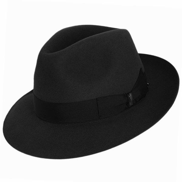 Borsalino Bellagio Fur Felt Hat - The Bellini  DelMonico Hatter 4f2c2eae959