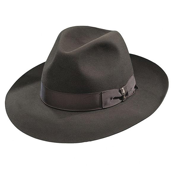 7d131e05a8d Borsalino Ernesto - Beaver Fur Felt Hat - Brown  DelMonico Hatter