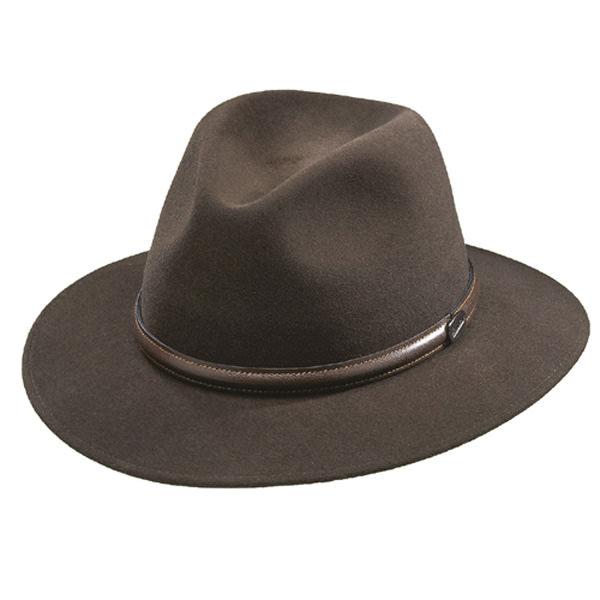 b0c84ebf4e8 Borsalino Laredo Fur Felt Hat  DelMonico Hatter