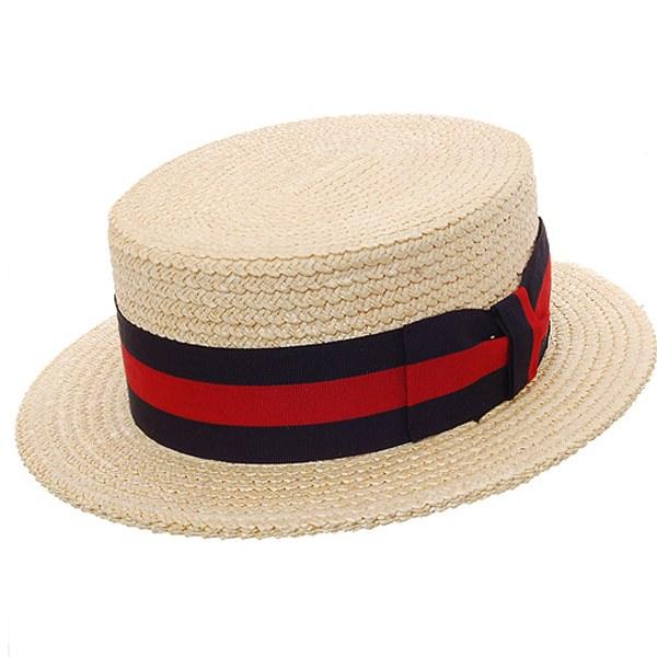 1fd428a55d864 DelMonico Boater Straw Hat  DelMonico Hatter