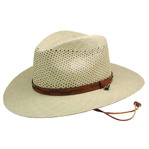 Stetson Airway Panama Hat  DelMonico Hatter 47f0ae42d2a