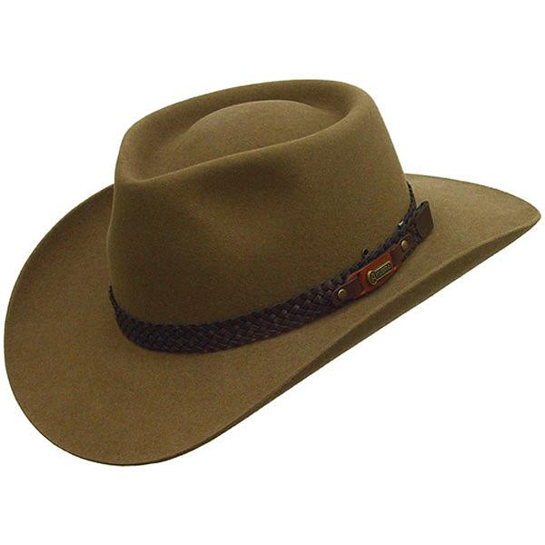 Akubra Snowy River Australian Hat  DelMonico Hatter db711aab945