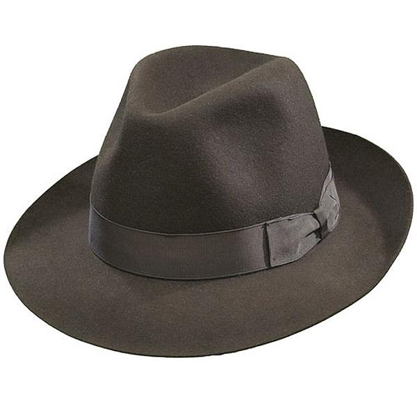 Borsalino Classic Fedora Hat  DelMonico Hatter 336c1b6f021