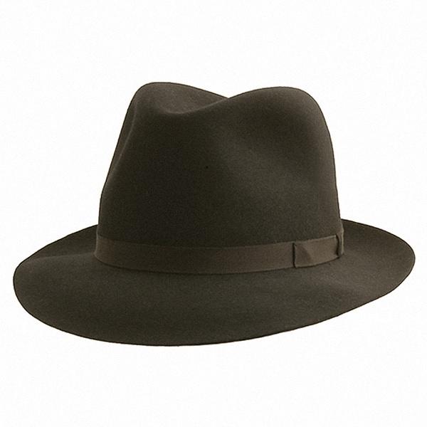 08e7c2189e0 Borsalino Trilby Hat  DelMonico Hatter