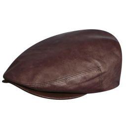 9aebb371d2d9e Genuine Leather Caps   Lambskin Hats