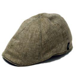 94c3a16b743c6 Wigens Leo Contemporary Newsboy Cap.  112.50. Wigens Leif Linen Pub Cap