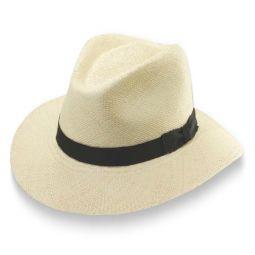 702361e495b Scala Wide Brim Panama Safari Hat