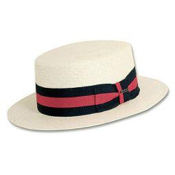 239da0dce Boater Hats & Vintage Straw Skimmers | DelMonico Hatter