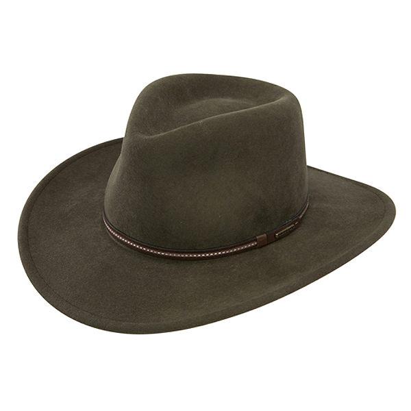 7191017e89a2c Stetson Gallatin Crushable Wool Felt Hat  DelMonico Hatter