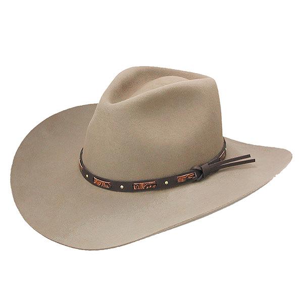Stetson Hutchins 3x Wool Felt Hat Delmonico Hatter