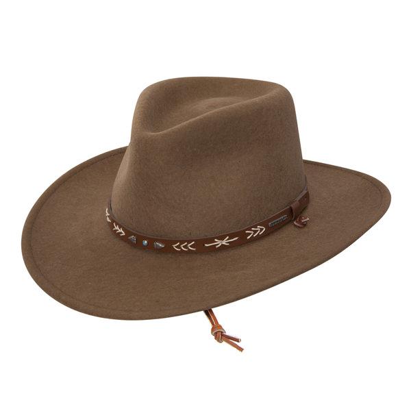 ad123412c8155 Stetson Santa Fe Crushable Hat  DelMonico Hatter