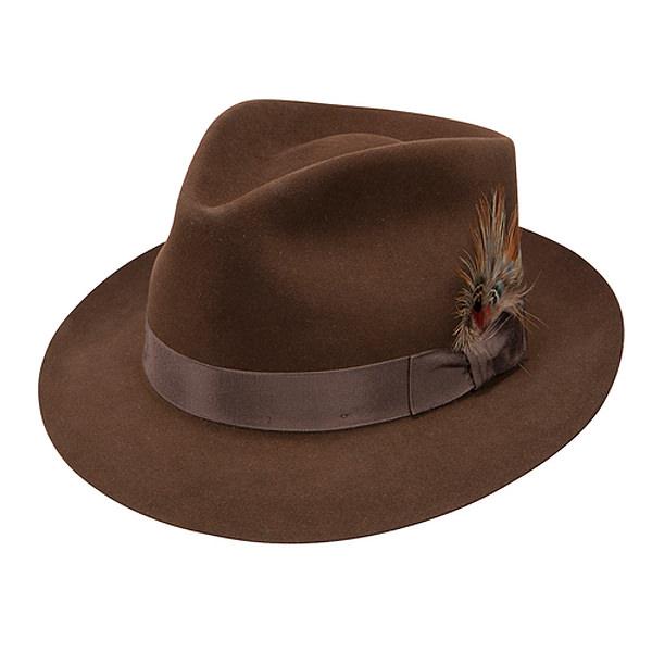Stetson Benchley Beaver Fur Felt Fedora  DelMonico Hatter 45623152d50