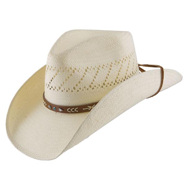 8eafc54c61f Stetson Santa Fe Straw Hat  DelMonico Hatter