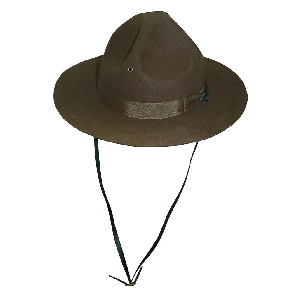 Dorfman Wool Felt Campaign Hat  DelMonico Hatter 5345c13001b