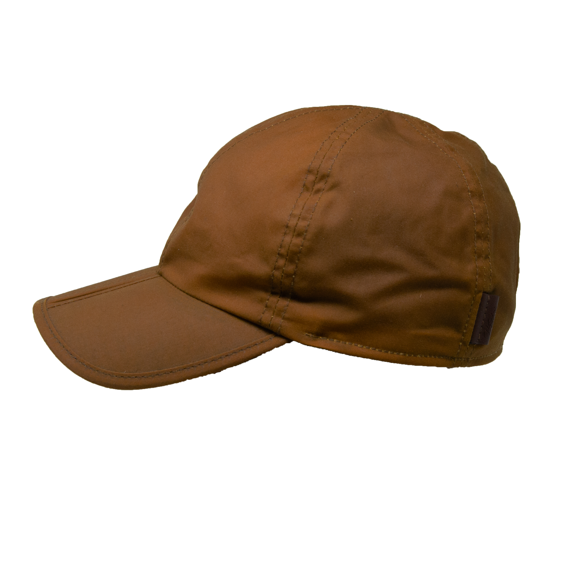Wigens Perry Waxed Cotton Baseball Cap