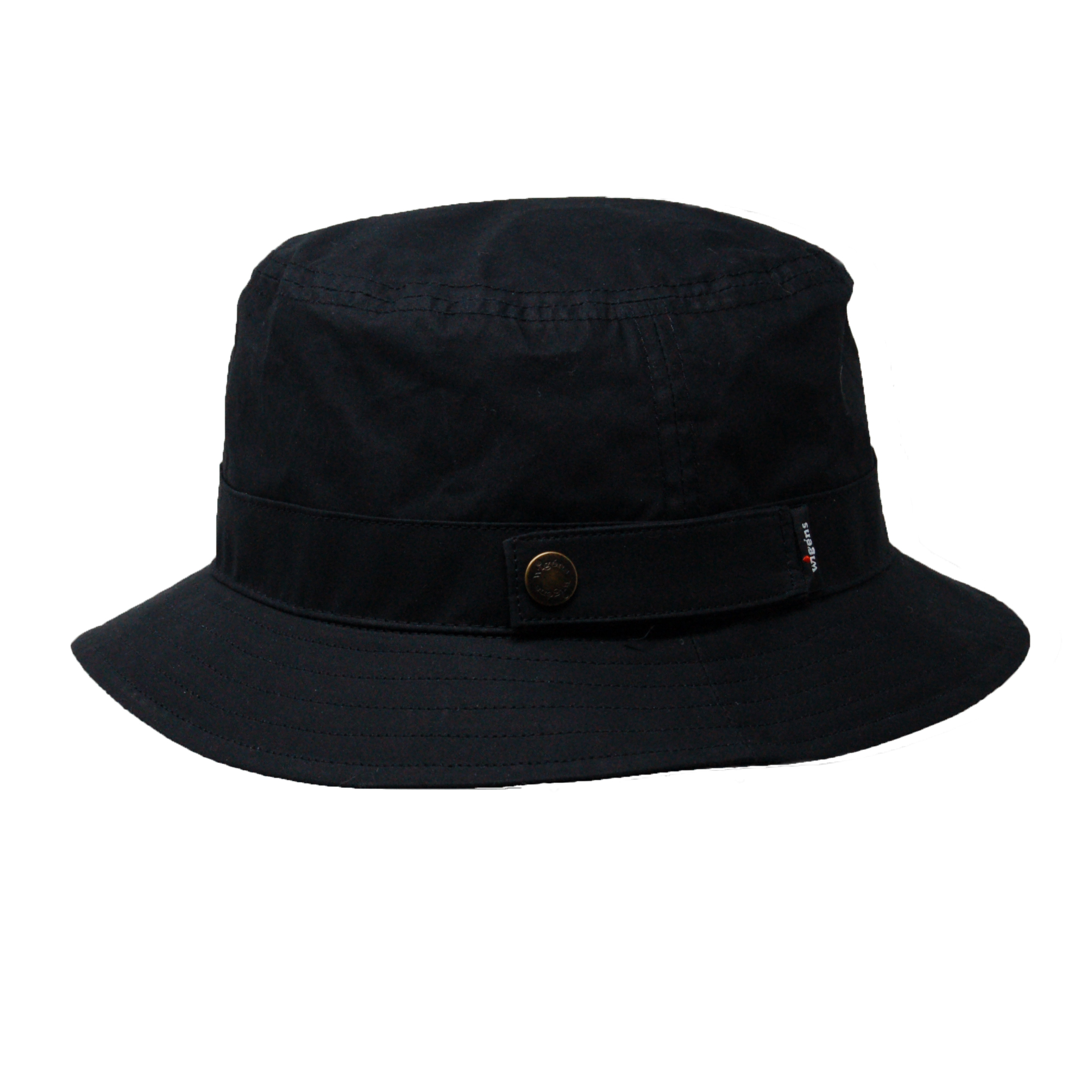 Wigens Duncan Waxed Cotton Bucket Hat 1b0baa14036